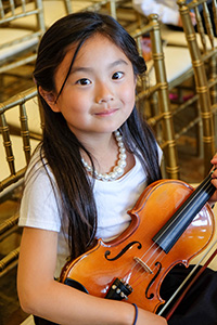 member of the Conservatory Strings jr. Orchestra 2015